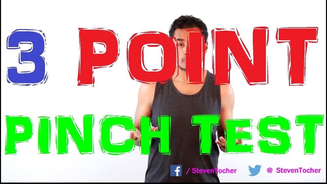 WEEK 48: 3 Point Fat Caliper Pinch Test (S 2 Epi 39) - YouTube