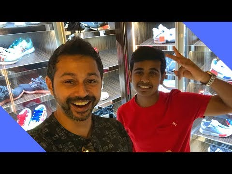 RICHEST KID IN DUBAI | MONEY KICKS Crazy Sneaker Room