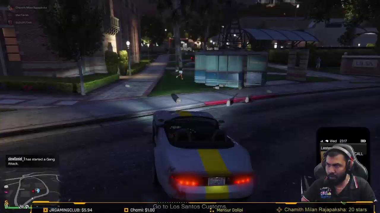 GTA V  Episode 1 - නිදානයක් හෑරුවා - Live Game Play