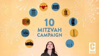 The Rebbe's 10 Mivtzoim (Mitzvah Campaigns)