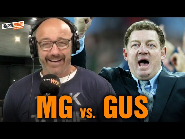 The Time MG & Gus Gould Nearly Punched On At Training   Rush Hour with MG & Liam