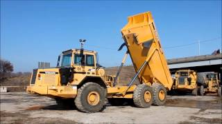 1997 Volvo A35C articulated dump truck for sale | sold at auction March 7, 2013