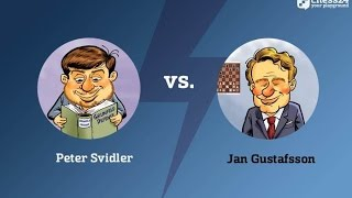 Tata Steel Masters Round 13 with Peter Svidler and Jan Gustafsson