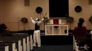 Marvin Sapp- Praise Him In Advance.... Mime Dance