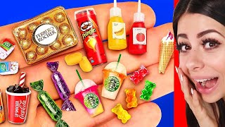 AMAZING DIY Miniature Food You Wont Believe Exists !