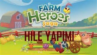 Farm Heroes Saga Hile Yapımı | Altın ve Fasulye Hilesi