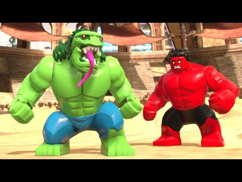LEGO Marvel Super Heroes 2: Collectibles, Pink Bricks, Cheat Codes