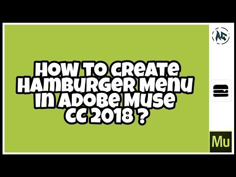 Adobe Muse 2018 Tutorial | Responsive Mobile Navigation Menu
