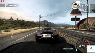 Need For Speed Hot Pursuit (2010) - Oakmont Valley - Ultimately Open 720p PC Gameplay with FPS