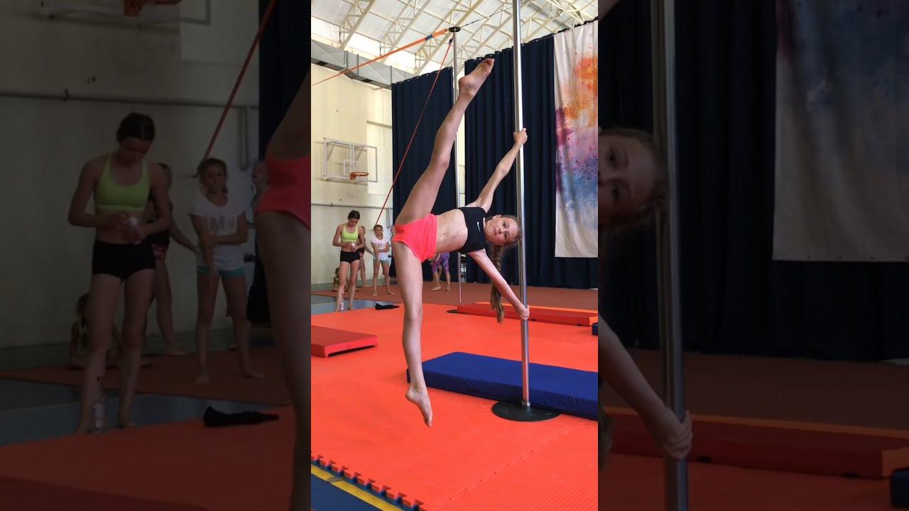 Kids training pole camp | gymnastics | Воздушная гимнастика дети спортивные сборы 2020