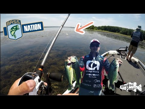OHIO B.A.S.S. NATION STATE CHAMPIONSHIP DAY 2 (6/17/18) - Mosquito Lake, Ohio
