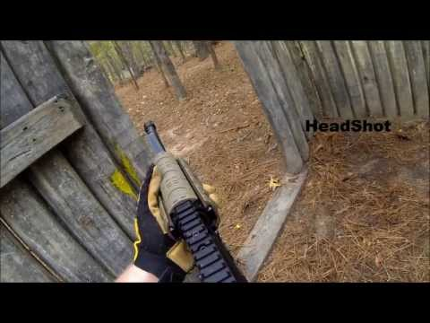 GoPro Mag-Fed Paintball: OFF Limits Paintball Louisiana- Survival Scenario Game Episode 1