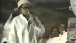 KISHORE KUMAR LIVE IN CONCERT   Manzilain Apni Jagha Hai Raaste Apni Jagah - Sharabi