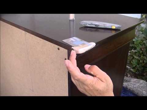 How To Fix A Dresser Broken Corner Part 1 Bonding
