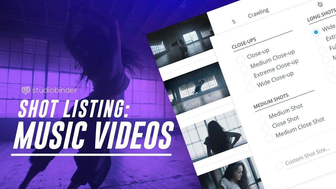 Shot List Example How ShareGrid Creates A Music Video 2018