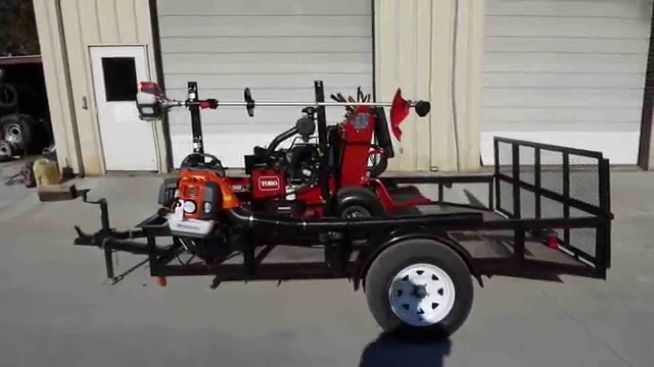 Toro grandstand 74588 stand on mower with equipment and for Garden equipment deals