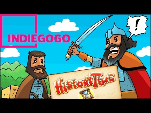 Indiegogo campaign - David Bek | History Time