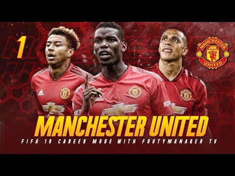 FIFA 19 Career Mode: Manchester United #1 - A NEW BEGINNING!! (FIFA 19 Gameplay)