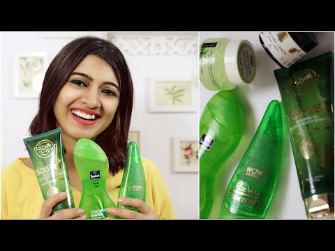 Best Aloe Vera Gel In India Aloe Vera Gel For Skin Hair Superwowstyle Youtube