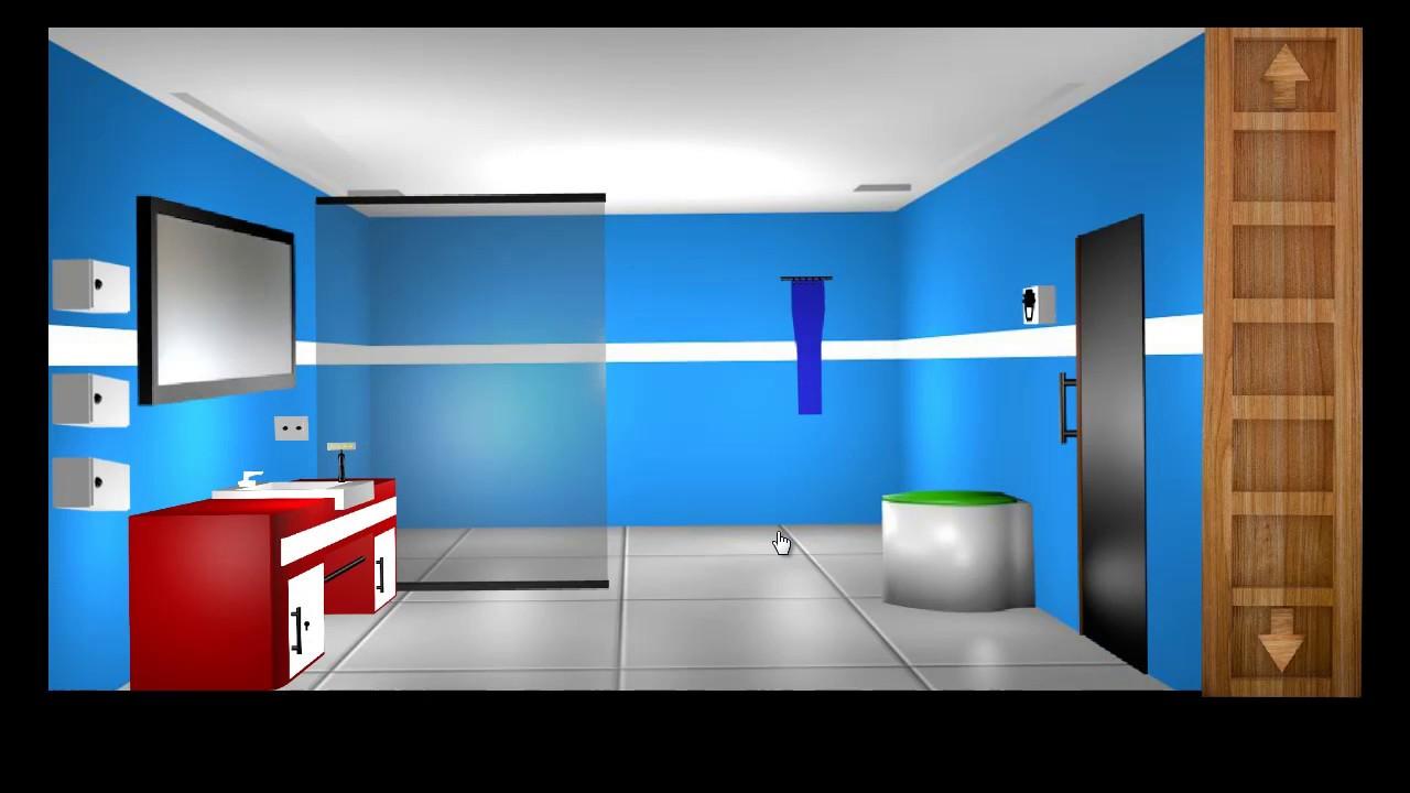 Escape Room Bathroom Level 1 escape games-bathroom level 23 walkthrough - youtube