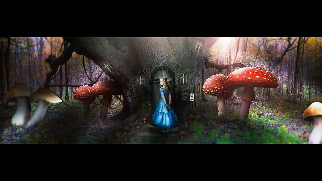 """Alice in Wonderland"" Header Design - YouTube"