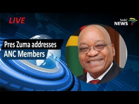 President Zuma addresses Ladysmith ANCYL members, 10 September 2017