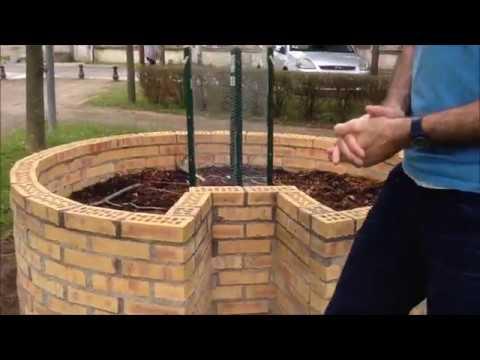 Présentation keyhole garden du CMJ (jardin en trou de serrure) - Mai ...