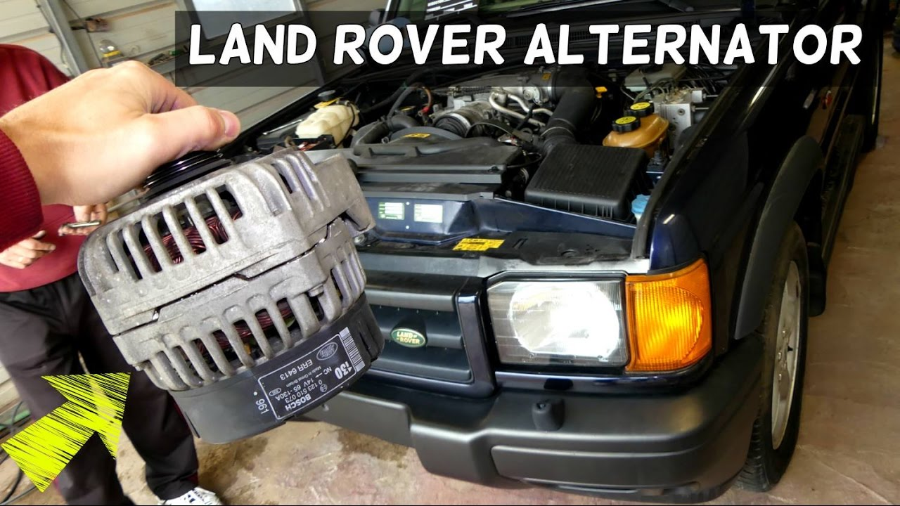 maxresdefault land rover discovery alternator removal replacement generator youtube