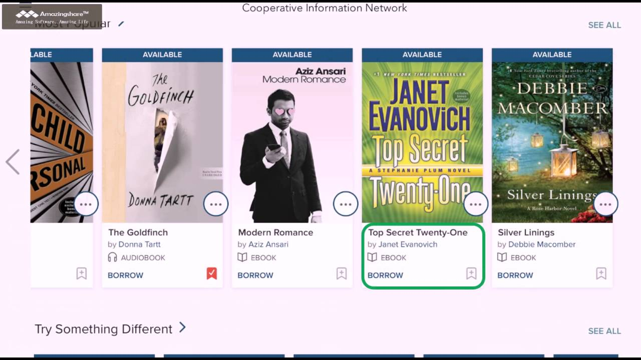 E-books & Audiobooks | Liberty Lake, WA - Official Website