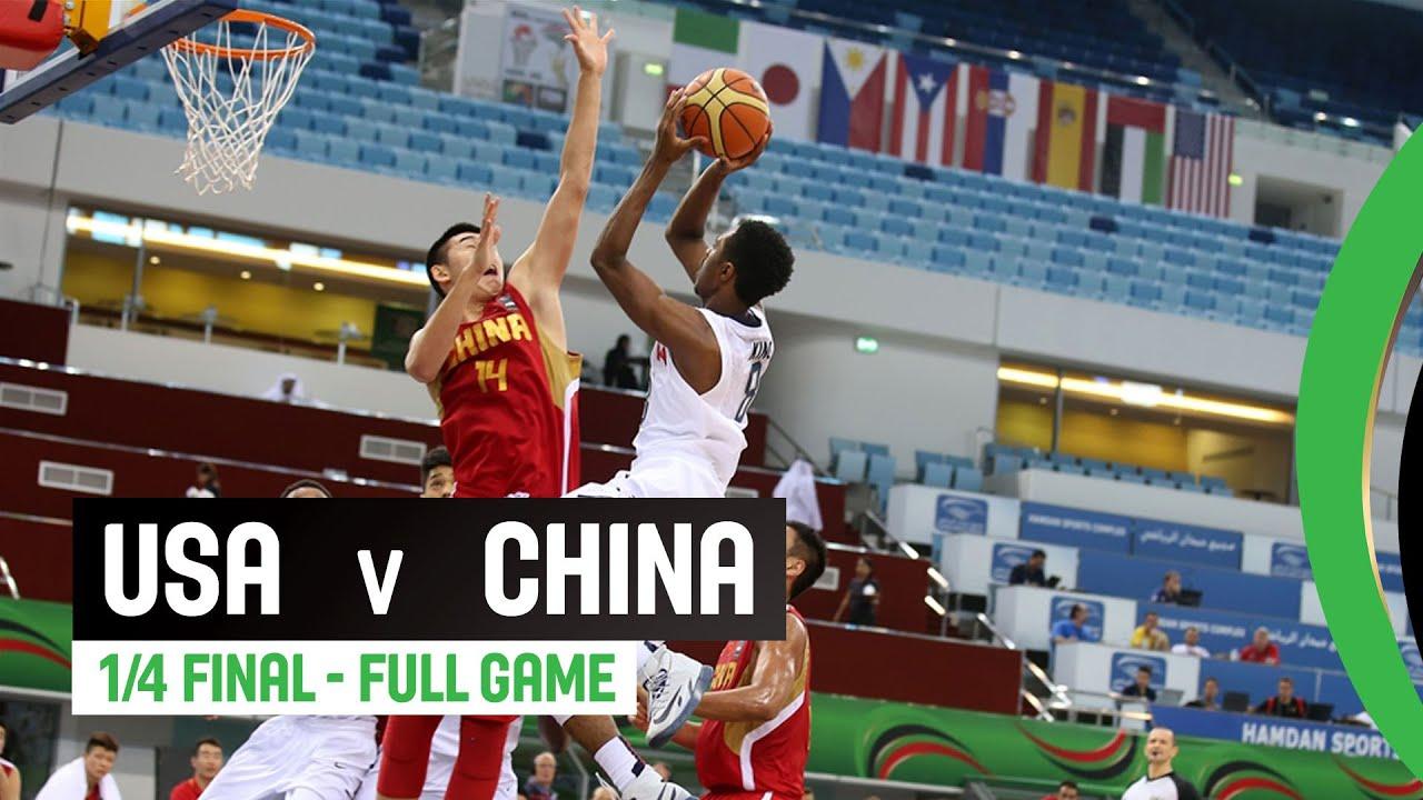 USA v China - Quarter Final Full Game