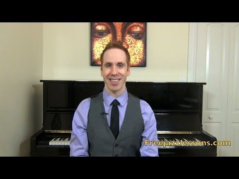 Straight No Chaser Jazz Piano Tutorial - Thelonious Monk