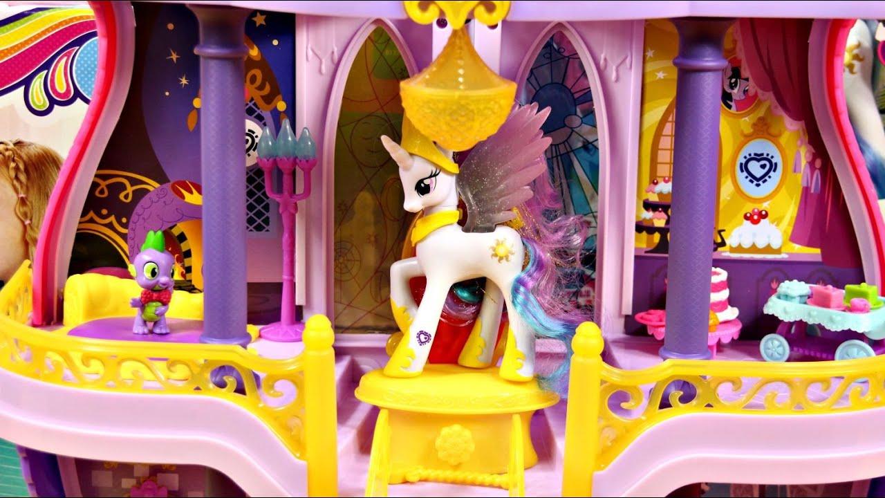 my little pony canterlot castle instructions