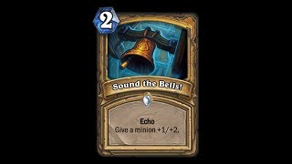 The Witchwood Bells! Quest  Paladin Hearthstone.