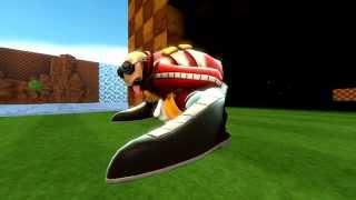 [SFM] Dr. Eggman Learns To Spindash