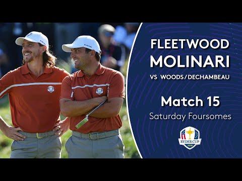 Molinari/Fleetwood vs Woods/DeChambeau | Saturday Foursomes | 2018 Ryder Cup Mp3