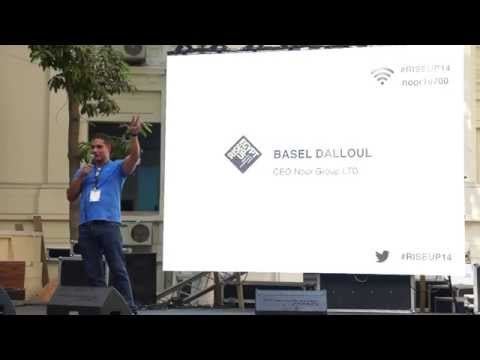 Dr. Basel Dalloul's speech at Rise Up Egypt 2014