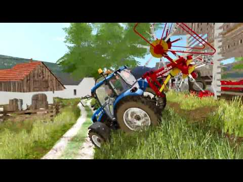 Farming in south-east Slovenia 2017 | Ft. UTH17 map video