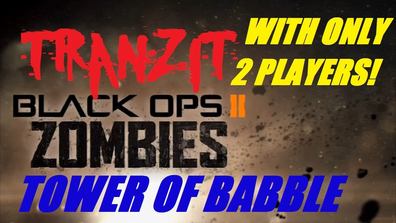 TranZit Zombies: 2 PLAYERS Tower of Babble Guide!!!! (Richtofen Storyline)