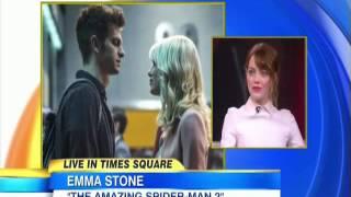 Emma Stone: I Love Very Much Andrew Garfield