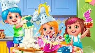 ГОТОВКА ЧЕЛЛЕНДЖ Мультик про малышей Делаем ТОРТИК и МОРОЖЕНОЕ Веселое видео для детей Fun baby care