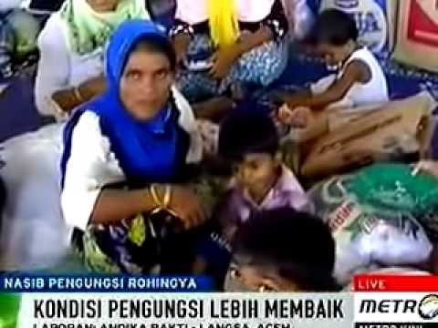 The fate of the Rohingya refugees in Aceh Indonesia