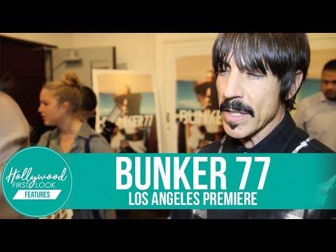 BUNKER 77 Los Angeles Premiere | Anthony Kiedis, Joel Kinnaman, Takuji Masuda & more!