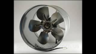 видео Вентилятор вытяжной промышленный