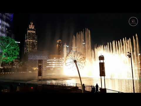 Water Fountain Show 2020 /Dubai Mall/Burj Khalifa/Downtown Dubai/Dubai Mall Amazing Water Fountain