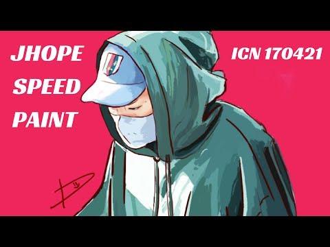 BTS JHOPE - ICN 170421 SPEEDPAINT