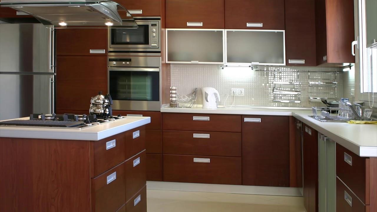 Modern Kitchen With Chimney Youtube