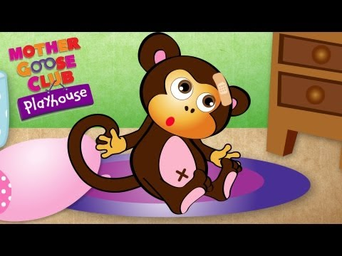 Thumbnail: Five Little Monkeys Jumping on the Bed - Mother Goose Club Nursery Rhymes