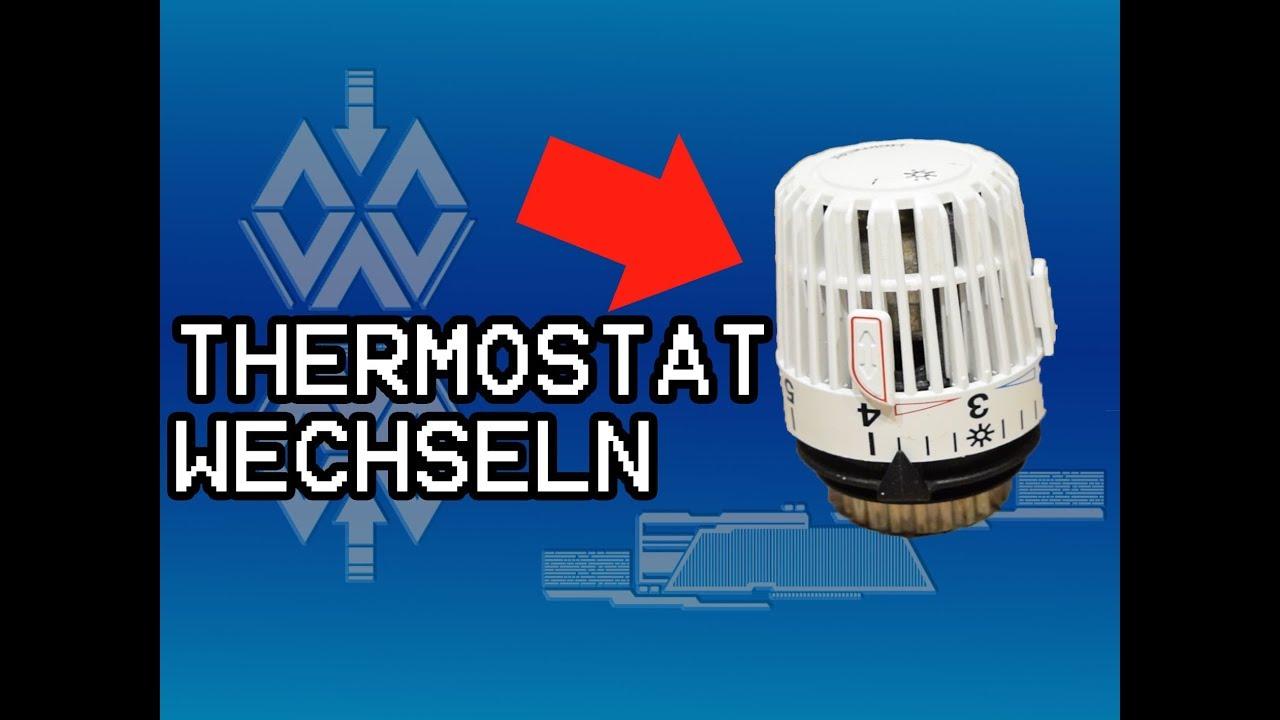 Turbo Heizungsthermostat wechseln. Thermostatkopf am Heizkörper tauschen HD73