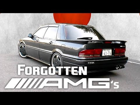 9 Of The Most Obscure AMG Cars To Exist