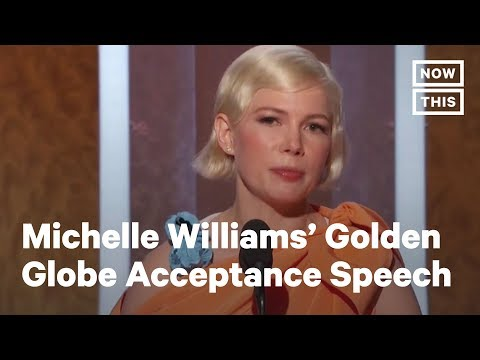 Golden Globes 2020: Michelle Williams Stands Up for Reproductive Freedom | NowThis